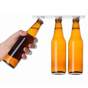 Segura Ceva Ímã Para Geladeira Segura Garrafa Cerveja Magnético 2 Peças Para 6 Garrafas