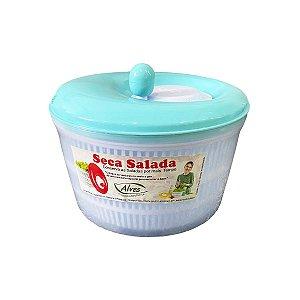 Centrifuga de Salada Seca Folhas Tamanho Grande 4,5 litros Verde