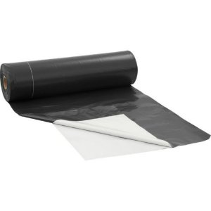 Lona Plastica Preta E Branca 8x50 60kg 200 Micras