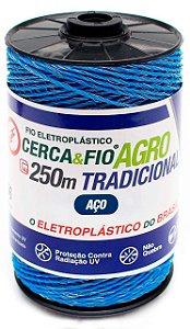 Fio Para Cerca Elétrica Rural Eletroplastico - Rolo 250m
