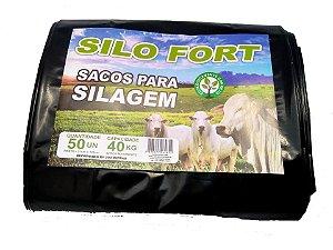 Sacos Para Silagem Preto 51 x 100 - 200 micras C/ 50 unidades