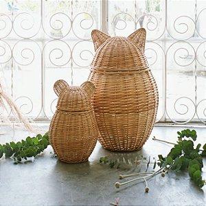 Conjunto de cestos correcuita - Gato / Rato