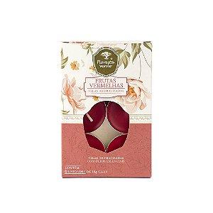 Velas Aromatizadas - Frutas Vermelhas - Caixa com 6