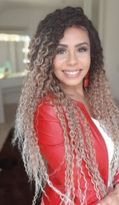 LACE FRONT SCARLET OMBRE LOIRA