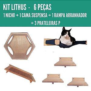 KIT LITHUS - 6 PEÇAS
