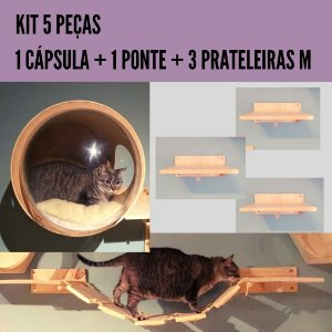 KIT 5 PEÇAS GATIFICAÇÃO