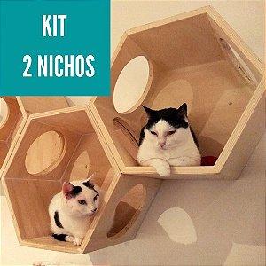 KIT 2 NICHOS