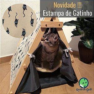 CABANA C/ REDE - ESTAMPA GATINHOS