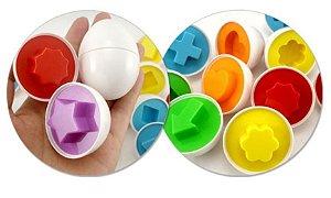 Ovos de encaixe geométrico