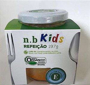 NB Kids Orgânica - Escondidinho de frango com mandioca