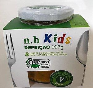 NB Kids Orgânica - Creme de Abóbora e alho poró VEGANO