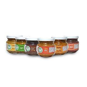 Kit 6 sabores - Linha Introdução alimentar (6+)