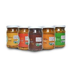 Kit 5 sabores - Linha Incentivando a mastigação (9+)