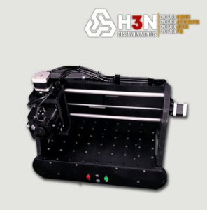 CNC Router H3N - 50x50x5cm(util) C/ Spindle 200W - Pcb