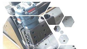 Módulo Tupia + Suporte - CNC H3N