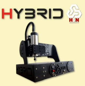 CNC Router H3N COM SPINDLE 1CV - Área 50x50x5cm