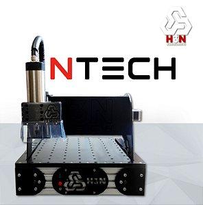 CNC Router H3N COM SPINDLE 2 CV - Área 30x30x5cm
