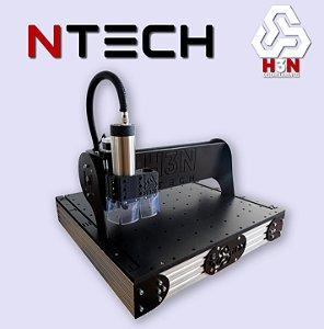 CNC Router H3N COM SPINDLE 2 CV - Área 50x50x5cm