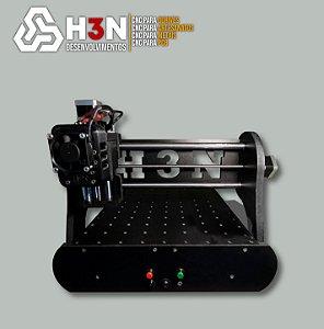 CNC H3N P/PCB - 50x50x5 C/ Spindle de 0,7 cv (12 Mil RPM)