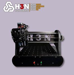 CNC Router P/PCB H3N 30x30x5cm C/ Spindle 0,7cv