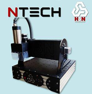 CNC H3N NTECH com Spindle de 1cv com Área 30x30x5cm
