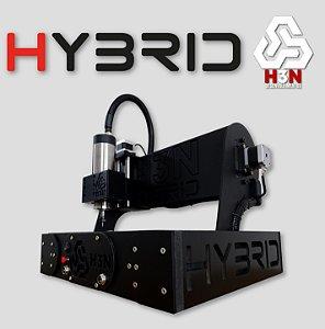 CNC Router H3N COM SPINDLE 1CV -- Área 30x30x5cm