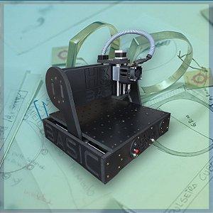 CNC H3N Basic Ourives 0.7cv 30x30x7cm - Com Gravação Interna Promoção
