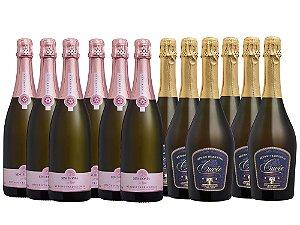 Kit Espumantes sofisticados - 12 garrafas