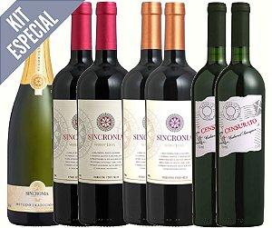 Kit Promocional Vinhos Finos
