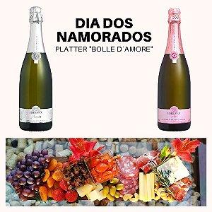 Kit Namorados Platter Bolle D´Amore