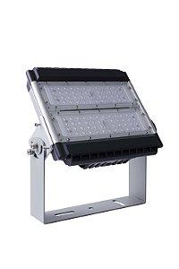Luminária Projetor LED Industrial Modular 100W 5000K 90°