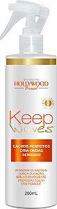 Hollywood Brasil Spray Fixador  Keep Waves 500ml