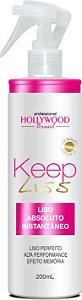 Hollywood Brasil Spray Liso Mágico  Keep Liss 200ml