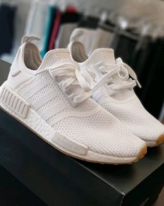 Adidas NMD R1 White Cloud