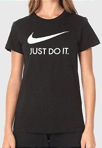 Camiseta Nike Just Do It Slim Fit Preta