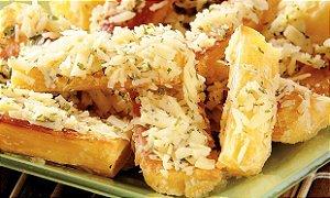 Mandioca Frita com Queijo