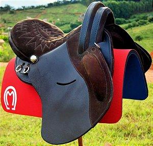 Sela Marchador Ouro Horse - Completa