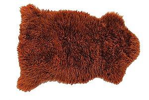 Pelêgo Natural pele de carneiro Marrom