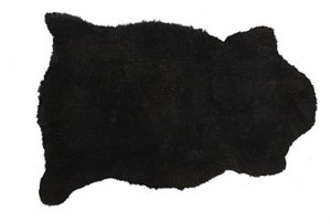 Pelêgo Natural pele de carneiro Preto