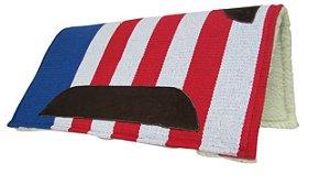 Manta Americana Algodão Tear Manual Top de Linha Cor Americana 02