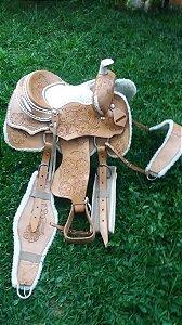 Sela Cavalo Americana Ouro Prova Laço 2020 Completo Oferta