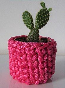 Lembrancinha de crochê rosa pink