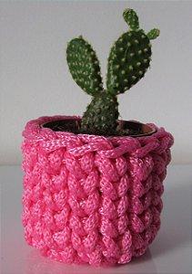 Lembrancinha de crochê rosa