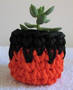 Lembrancinha de Halloween laranja