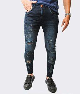 Calça Jeans Drops Skull