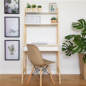 Escrivaninha Estante de Computador Escada