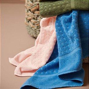 Jogo de Toalhas 2 peças Banho + Rosto 100% algodão Kyoto