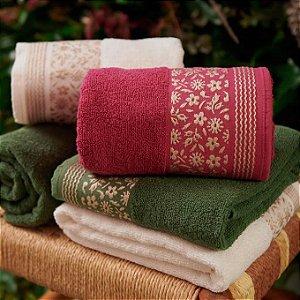 Jogo de Toalhas 2 peças Banho + Rosto 100% algodão Kenya