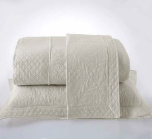 Kit Colcha King com Porta Travesseiros Microfibra - Provence Bege
