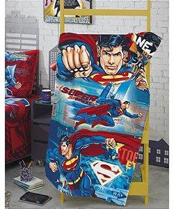 Toalha de Praia Aveludada 70 x 130cm Superman